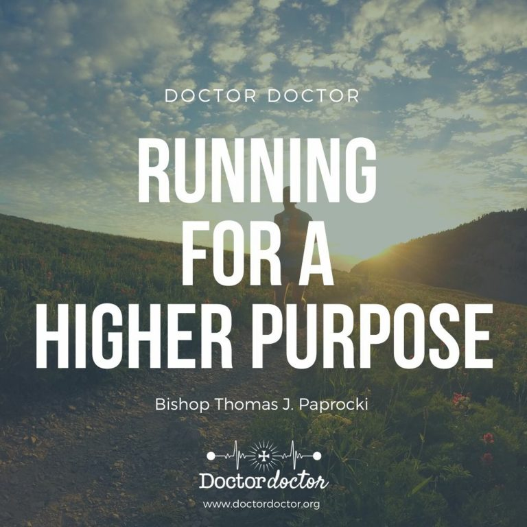 DD #230 – Running for a Higher Purpose with Bishop Thomas J. Paprocki